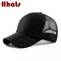 Trendy Winter Jacket which in shower breathable mesh cap for women adjustable summer baseball cap solid curved sunscreen snapback hat men trucker hat AT_92_12