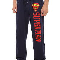 DC Comics Superman Logo Men's Pajama Pants