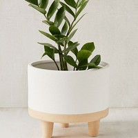 "Liv 8"" Footed Planter 