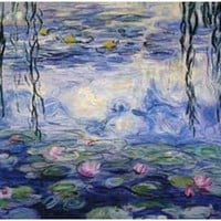 Claude Monet Water Lilies Poster 11x17
