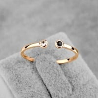 New Sale Brand TracysWing  Austria Crystal Ring Copper gold Color Rings for Women   Openings  ring #RA11542Rose