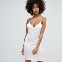Club L Satin Cami Mini Dress at asos.com