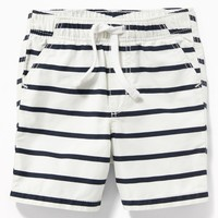 Twill Pull-On Shorts for Baby old-navy