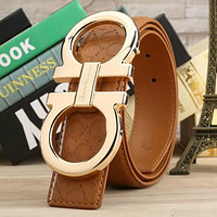 NEW W3.8CM MEN AND WOMEN BELT FERRAGAMO LEATHER BELTS