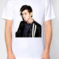 Arctic Monkeys Alex Turner White American Apparel T-Shirt. Small to Extra-Large.