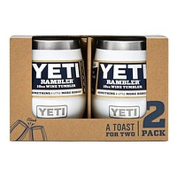 2 Pack Rambler 10oz Wine Tumbler in White by YETI