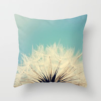 She's a Firecracker Throw Pillow by Beth - Paper Angels Photography