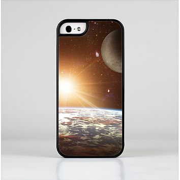 The Earth, Moon and Sun Space Scene Skin-Sert Case for the Apple iPhone 5/5s