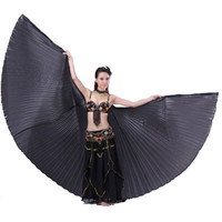 Indian Belly Dance Costume Angle Wings Wings Handmade Polyester Isis wings 10 Colors
