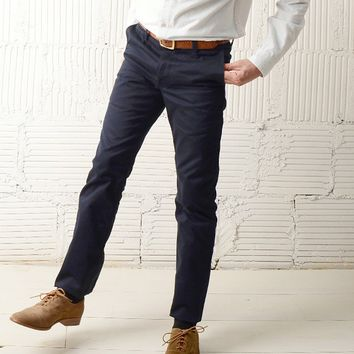 JOINERY - 10oz Japanese Twill Tailored Chinos by Left Field - MEN