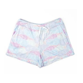 Hello Mello Lounge Shorts - Head In The Clouds