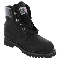 Safety Girl II Steel Toe Waterproof Women's Work Boots - Black