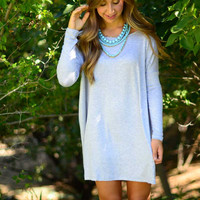 Softie Tunic - Heather Grey