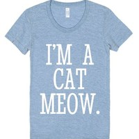 Cat Person I'm A Cat Meow T-shirt White Art Id870318-T-Shirt