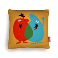 Hello Old Chum Cushion by Andy Fielding   Ohh Deer