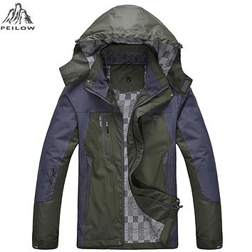 Men's Waterproof Wind poof Jackets Men Spring fall Jacket Coats Male Tourism Mountain Clothing
