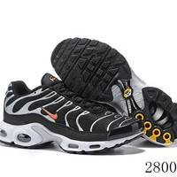 Hcxx 19July 1196 Nike Air Max Plus CD1533-001 Retro Sports Flyknit Running Shoes
