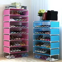Simple shoe rack storage cabinet shoe rack multilayer simple modern economic domestic assembly special offer