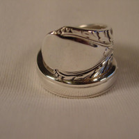 A Spoon Rings Plus Beautiful Spoon Ring Wrap Size 8 Vintage Spoon Jewelry t424
