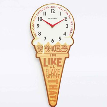 Ice Cream Clock - Urban Outfitters