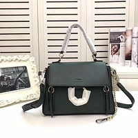 popular Chloe Women Leather monnogam Handbag Crossbody bags Shouldbag Bumbag