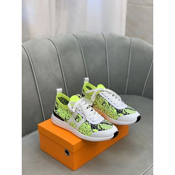 HERMES2021 Woman's Men's 2020 New Fashion Casual Shoes Sneaker Sport Running Shoes07280EM