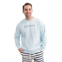 CHAMBRAY UNISEX SEASIDE SWEATSHIRT