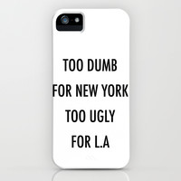New York iPhone & iPod Case by Trend