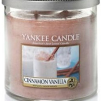 Cinnamon Vanilla Small Tumbler by Yankee Candle