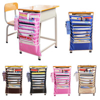 New Adjustable Desk Textbooks Organizer Bag For Desk Width Useful Books Storage Bag Efficient Rack Sac de rangement anglais Hot