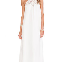 Lovers + Friends Mahalo Maxi Dress in White