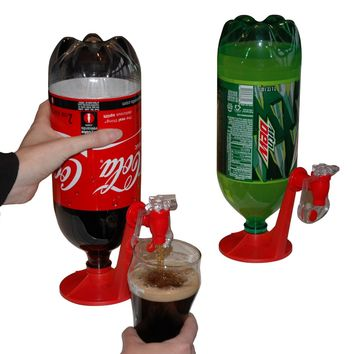Fizz Saver Refrigerator 2-Liter Soft Drink Dispenser by Inventist