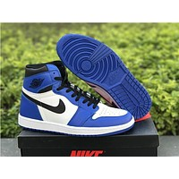 "Air Jordan 1 ""white/blueâ€"