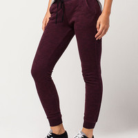 FULL TILT Essential Marled French Terry Womens Jogger Pants | Pants & Joggers