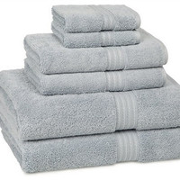 kassadesign bath towels | smoke-blue