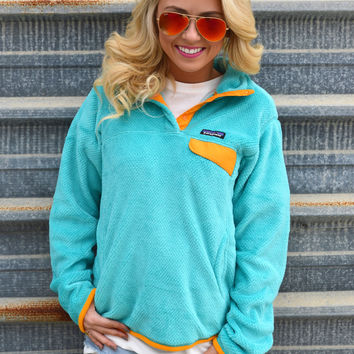 Women's Re-Tool Snap-T Fleece Pullover- Howling Turquoise