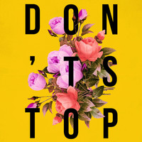 Don't Stop Flower Poster Art Print by Bag Fry   Society6