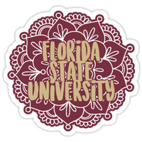 'Style 3 - Florida State University' Sticker by collegelife