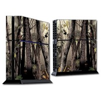 Mightyskins Protective Vinyl Skin Decal Cover for Sony PlayStation 4 PS4 Console wrap sticker skins Tree Camo