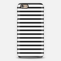 Black and white stripes iPhone 6 case by Christy Leigh   Casetify