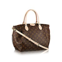 Louis Vuitton Monogram Canvas Turenne MM Tote Bag Handbag Article: M48814 Made in France