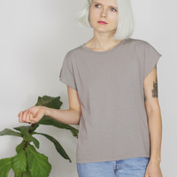 Anais Tee in Solid Color