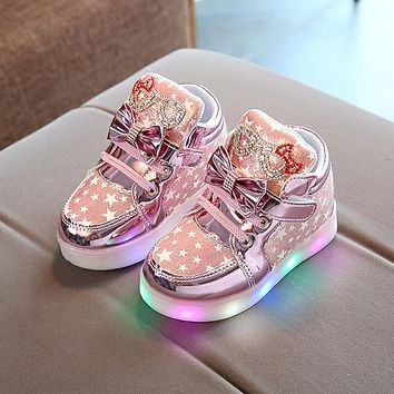 Colorful Toddlers Light Shoes
