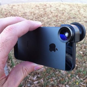 Olloclip For iPhone 5 - $70 | The Gadget Flow