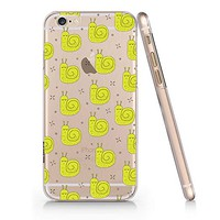 Cute Snail Pattern Slim Iphone 6 6s Case, Clear Iphone Hard Cover Case For Apple Iphone 6 6s Emerishop (iphone 6)