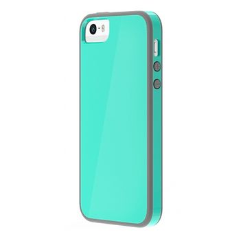 The AquaSky/Gray Skech Glow Case for iPhone 5/5s