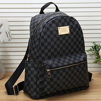 Louis Vuitton LV Women Fashion School Travel Backpack Daypack Bookbag