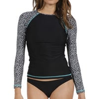 Volcom Wild Marks Rashguard - Long-Sleeve - Women's Black,