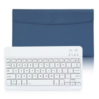 """CoastaCloud Business Pro Ultra Slim Wireless Bluetooth Keyboard W Magnetic Case and Stand For Apple iPad 2 iPad 3 iPad 4, Pad Air, iPad Air 2 iPad Pro 9.7""""-12"""" IOS Android Windows Tablet Black"""