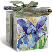 Iris Paper Note Block and Pen
